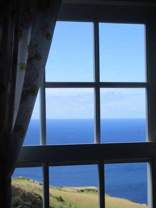 Malbusca Sea seen from the window of my sleeping room